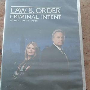 Law&Order Criminal Intent Final year 11 season-NEW